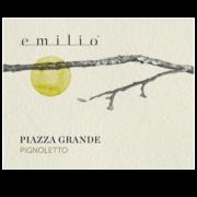 Pignoletto - Piazza grande Etichette