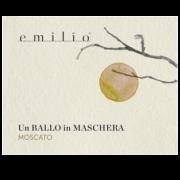 Moscato - Un ballo in maschera Etichetta